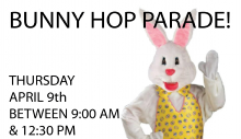 Bunny Hop Parade Photo