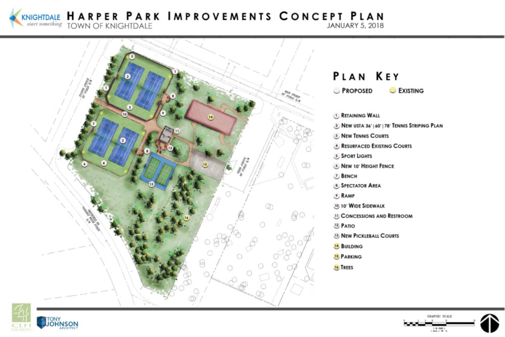 Harper Park Improvement Concept