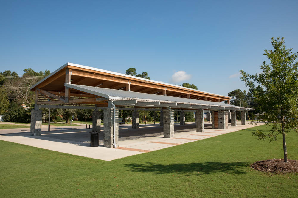Pavilions at Knightdale Station Park | Town of Knightdale, NC