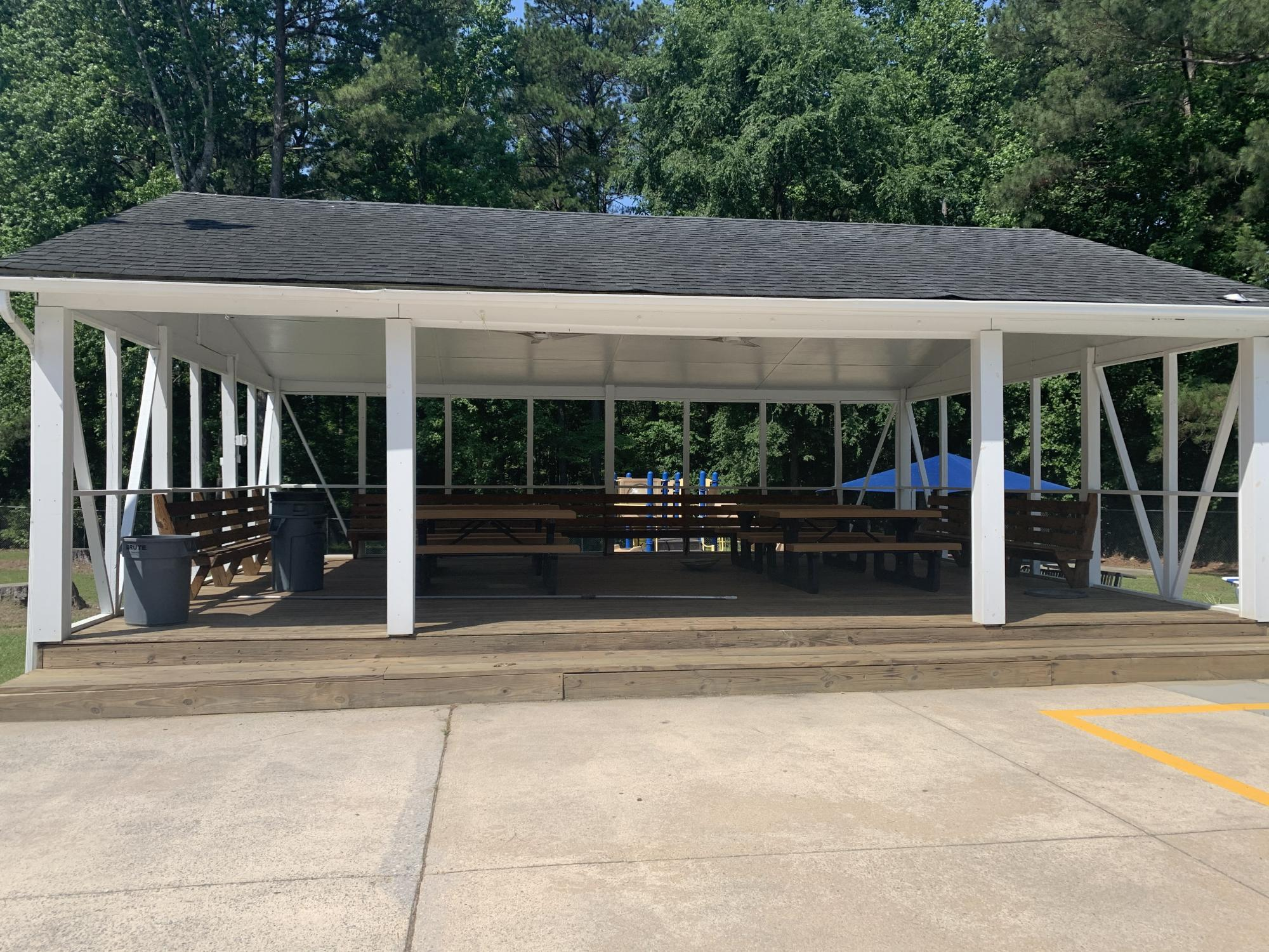 Knightdale Community Pool Cabana