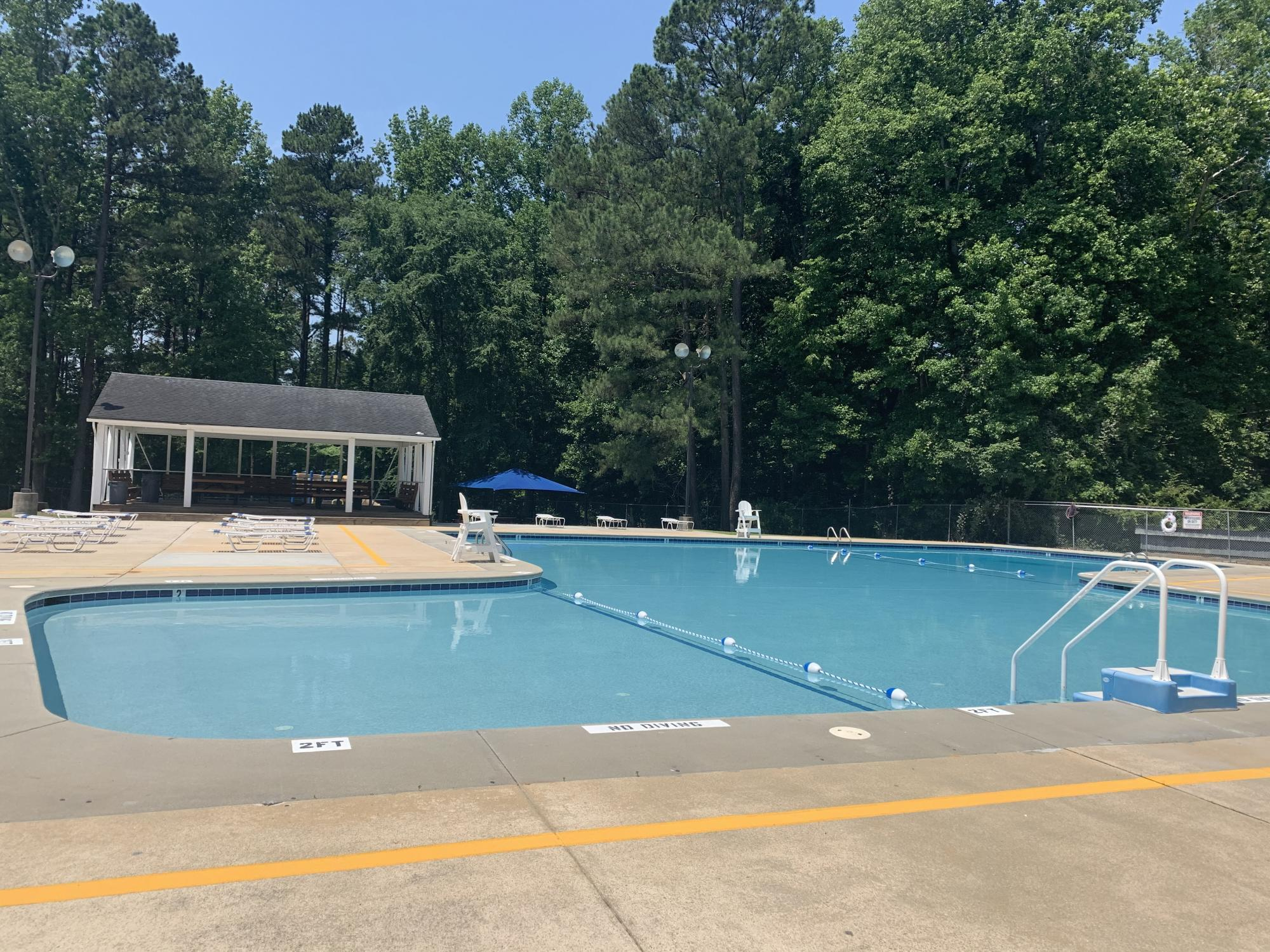 Knightdale Community Pool Pool and Cabana